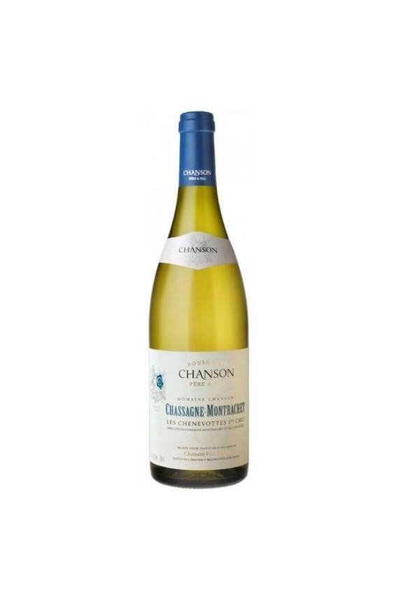 Chanson Chassagne Montrachet 1er cru Les Chenevottes 2010 blanc
