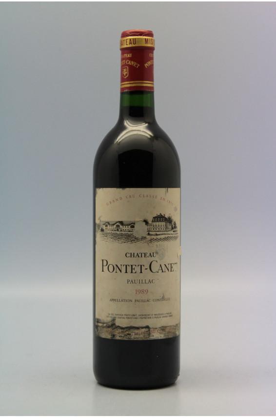 Pontet Canet 1989
