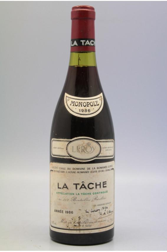 Romanée Conti La Tâche 1986