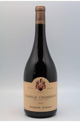 Ponsot Chapelle Chambertin 2012 Magnum