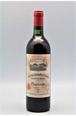 Grand Puy Lacoste 1982 - PROMO -10% !