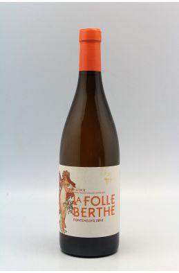 La Folle Berthe Saumur Fontennelles 2016