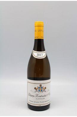 Domaine Leflaive Puligny Montrachet 1er cru Clavoillon 2017