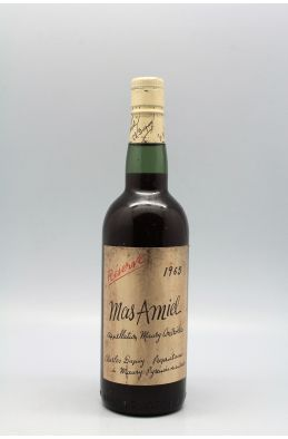 Mas Amiel Maury Réserve 1965