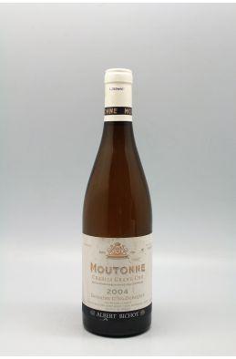 Long Depaquit Chablis Grand cru La Moutonne 2004