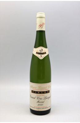 Dirler Cadé Alsace Grand cru Muscat Spiegel 2000