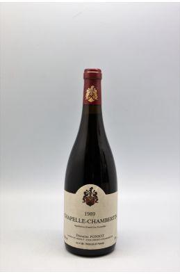 Ponsot Chapelle Chambertin 1989
