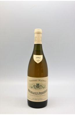 Thierry Matrot Meursault 1er cru Les Perrières 1997