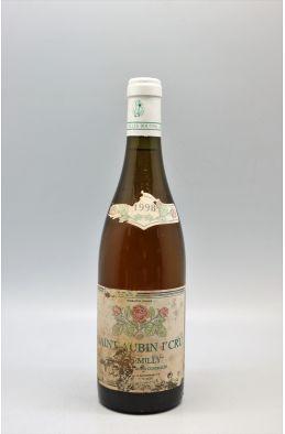 Gilles Bouton Saint Aubin 1er cru En Remilly 1998 Blanc - PROMO -10% !