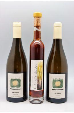 LOT Labet 2 Les Varrons Chardonnay 2018 75cl + 1 La Paille Perdue 2011 37,5 cl