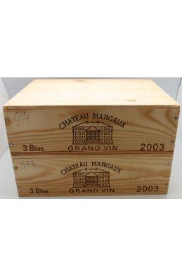 Château Margaux 2003 OWC