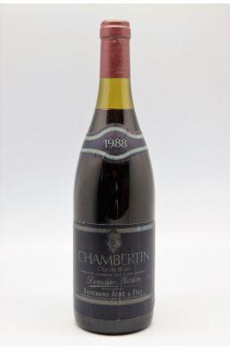 Bouchard Ainé Chambertin Clos de Bèze 1988