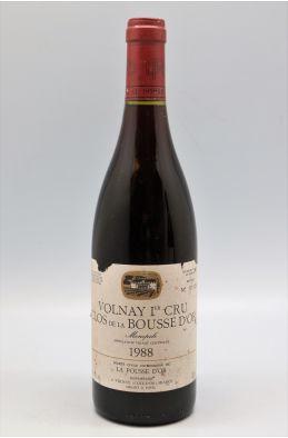 La Pousse d'Or Volnay 1er cru Clos de la Bousse d'Or 1988 - PROMO -5% !