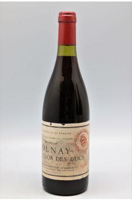 Marquis d'Angerville Volnay 1er cru Clos des Ducs 1988 - PROMO -10% !