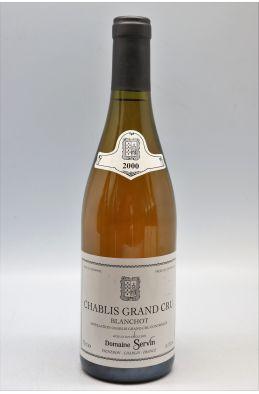 Servin Chablis Grand cru Blanchot 2000 -10% DISCOUNT !