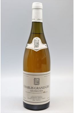 Servin Chablis Grand cru Les Preuses 1997 - PROMO -10% !