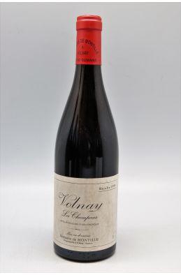 De Montille Volnay 1er cru Les Champans 1995