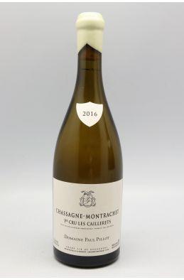 Paul Pillot Chassagne Montrachet 1er cru Les Caillerets 2016
