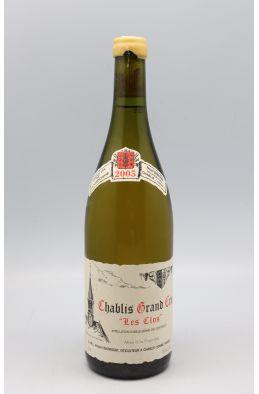 Vincent Dauvissat Chablis Grand cru Le Clos 2005