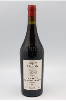Domaine du Pélican Arbois Pinot Noir Clos St Laurent 2019