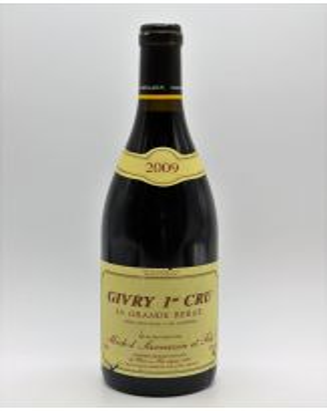 Michel Sarrazin Givry 1er cru La Grande Berge 2009