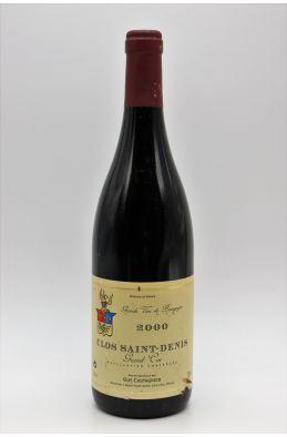 Guy Castagnier Clos Saint Denis 2000