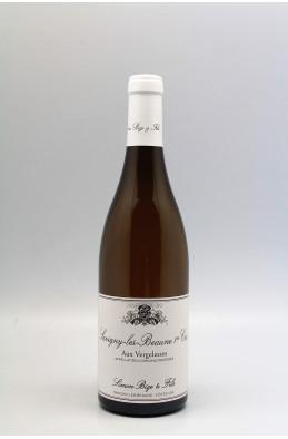 Simon Bize Savigny les Beaune 1er cru Aux Vergelesses 2018 blanc