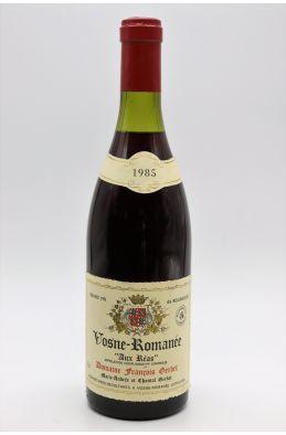 François Gerbet Vosne Romanée Aux Réas 1985