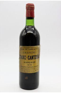 Brane Cantenac 1978 -5% DISCOUNT !