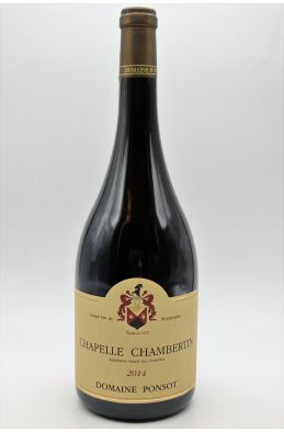 Ponsot Chapelle Chambertin 2014 Magnum