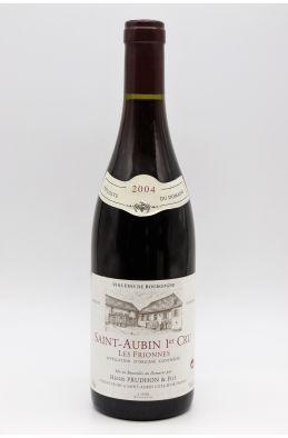 Henri Prudhon Saint Aubin 1er cru Les Frionnes 2004 rouge