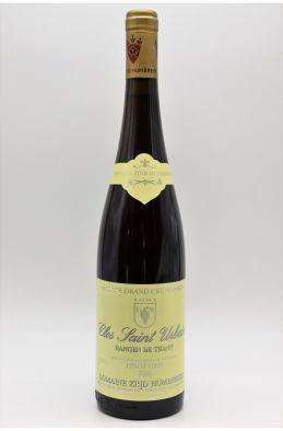 Zind Humbrecht Alsace Grand Cru Pinot Gris Rangen de Thann Clos Saint Urbain 2006
