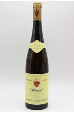 Zind Humbrecht Alsace Grand cru Riesling Brand Vendanges Tardives 2006