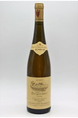 Zind Humbrecht Alsace Pinot Gris Clos Windsbuhl 1998
