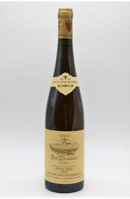 Zind Humbrecht Alsace Pinot Gris Clos Windsbuhl 2004