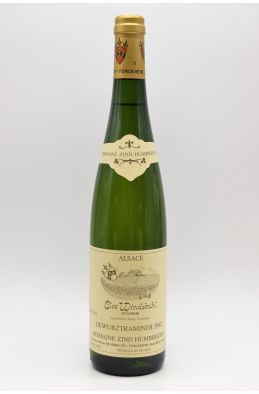 Zind Humbrecht Alsace Gewurztraminer Clos Windsbuhl 1992