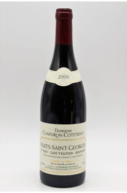 Confuron Cotetidot Nuits Saint Georges 1er cru Les Vignes Rondes 2009