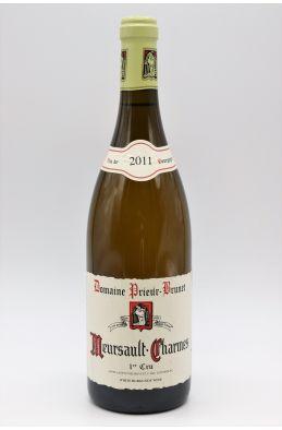 Prieur Brunet Meursault 1er cru Charmes 2011