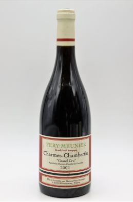 Fery Meunier Charmes Chambertin 2002