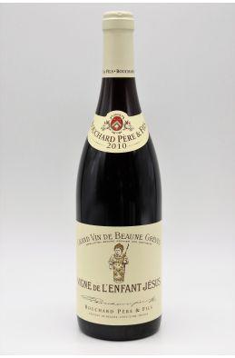 Bouchard P&F Beaune Grèves 1er cru Vignes de l'Enfant Jésus 2010