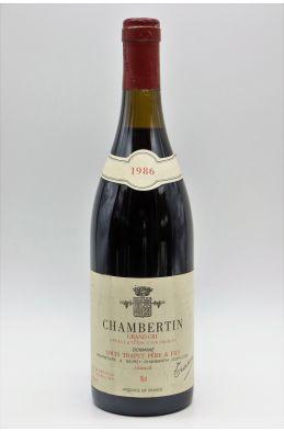Louis Trapet Chambertin 1986