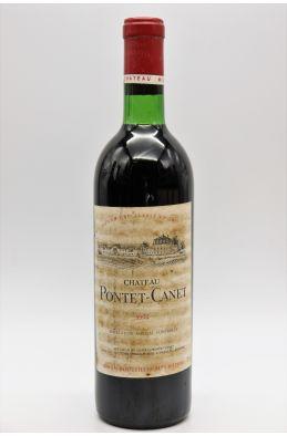 Pontet Canet 1974 - PROMO -10% !