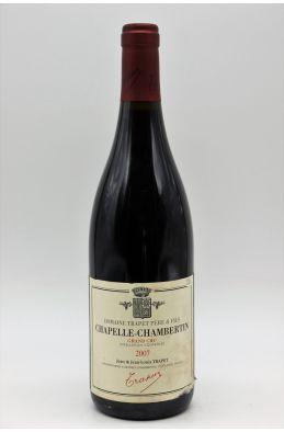 Trapet Chapelle Chambertin 2007 -5% DISCOUNT !