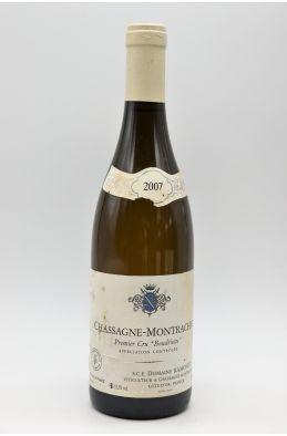 Ramonet Chassagne Montrachet 1er cru Boudriotte 2007 -5% DISCOUNT !